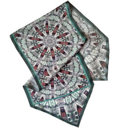 шовковий шарф шовкова хустка подарунок Київ подарунок з києва авторський шарф хустинка